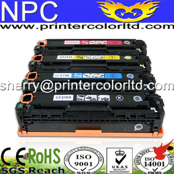 Color toner cartridge compatible hp pro200 m276nw m276n m251n