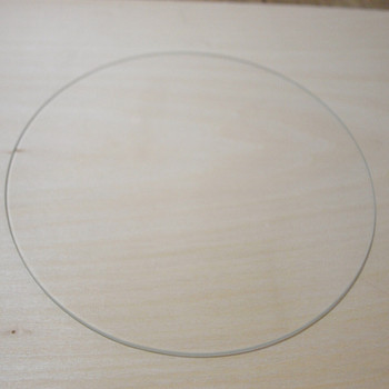 Horizon Elephant Print Table Glass for Rostock delta Kossel orion Borosilicate Glass plate for diy 3d printer Perfectly flat sur