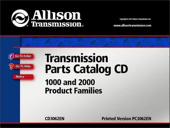 Allison Transmission Parts Catalog