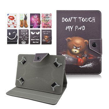 Tablet leather case for samsung galaxy tab a 10.1 2016 t580 t585 t580n t585n funda tablet 10.1 универсальный + центр пленка + ручка kf492a