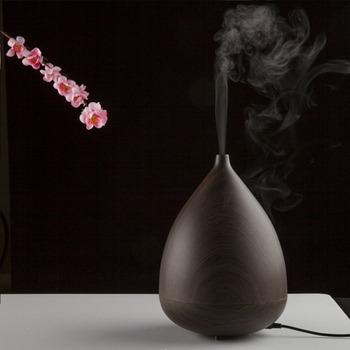 NAGOMI 300ML Wood Essential Oil Diffuser Aromatherapy Humidifier Aroma Mist Nebulizer 3 Models 7 Color Light AC. Timer Setting
