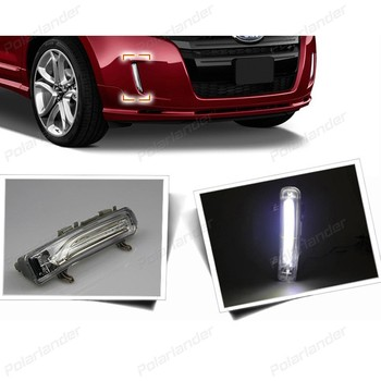 2 pcs auto fog lamps Car styling for F/ord e/dge 2011-daytime running lights